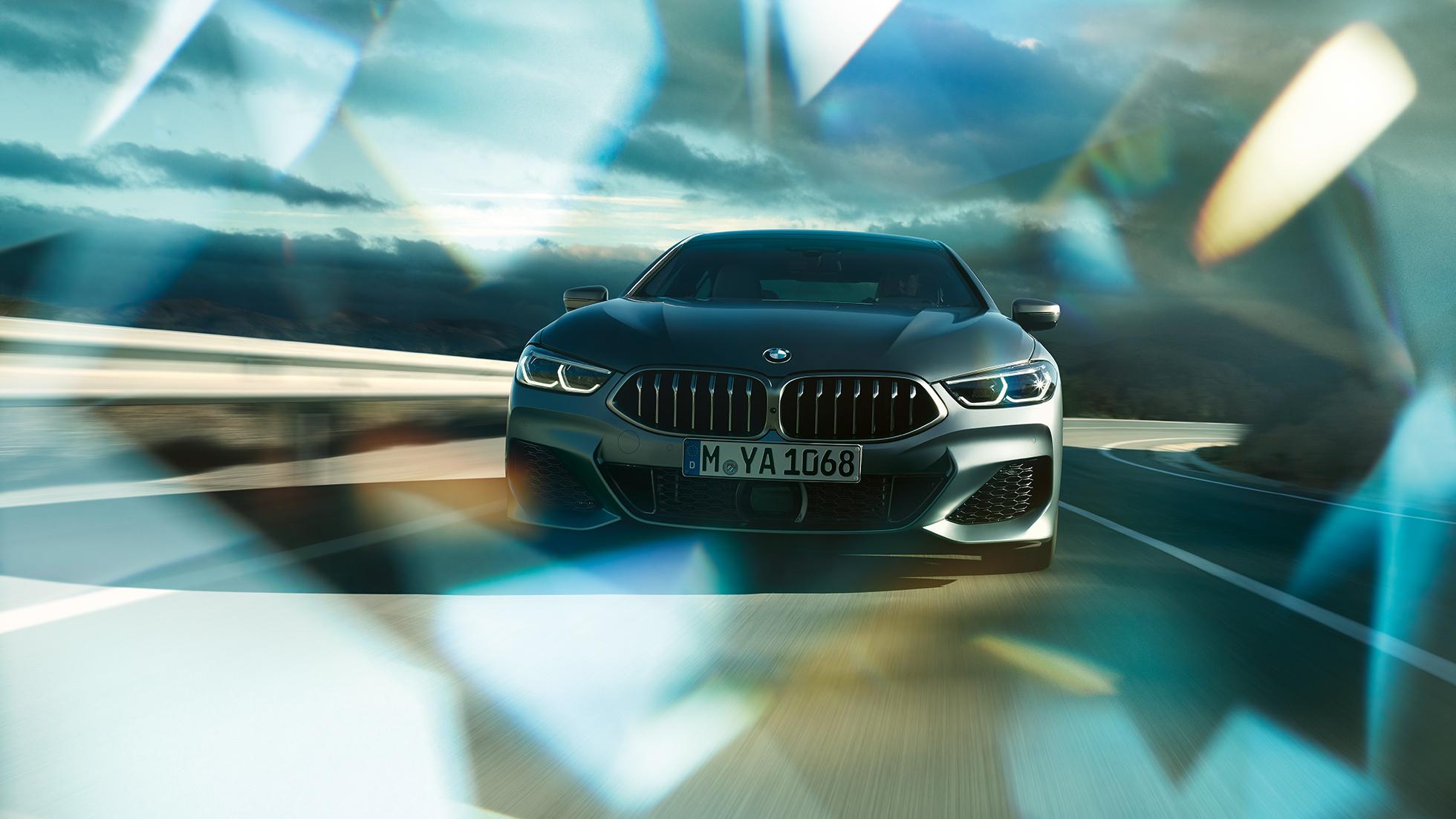 BMW Série 8 Gran Coupé, dynamique de conduite