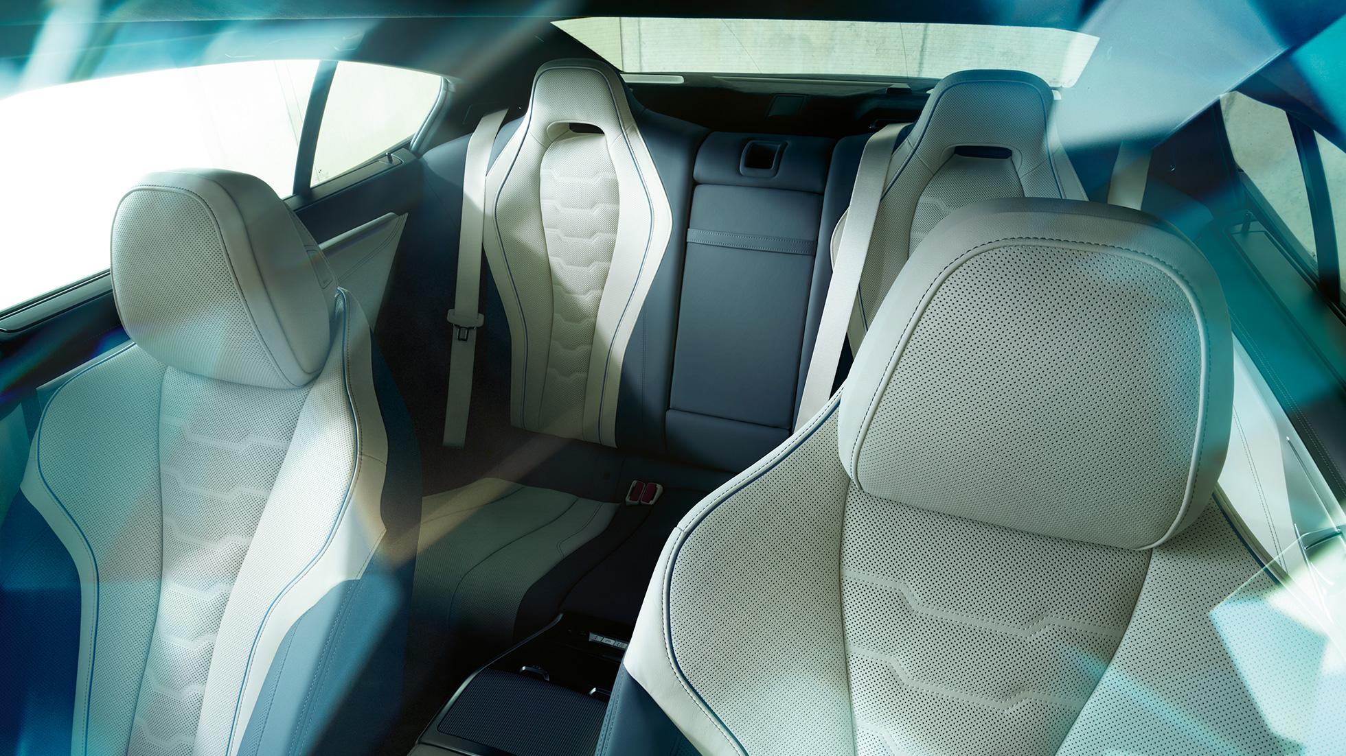 Design intérieur de la BMW Série 8 Gran Coupé