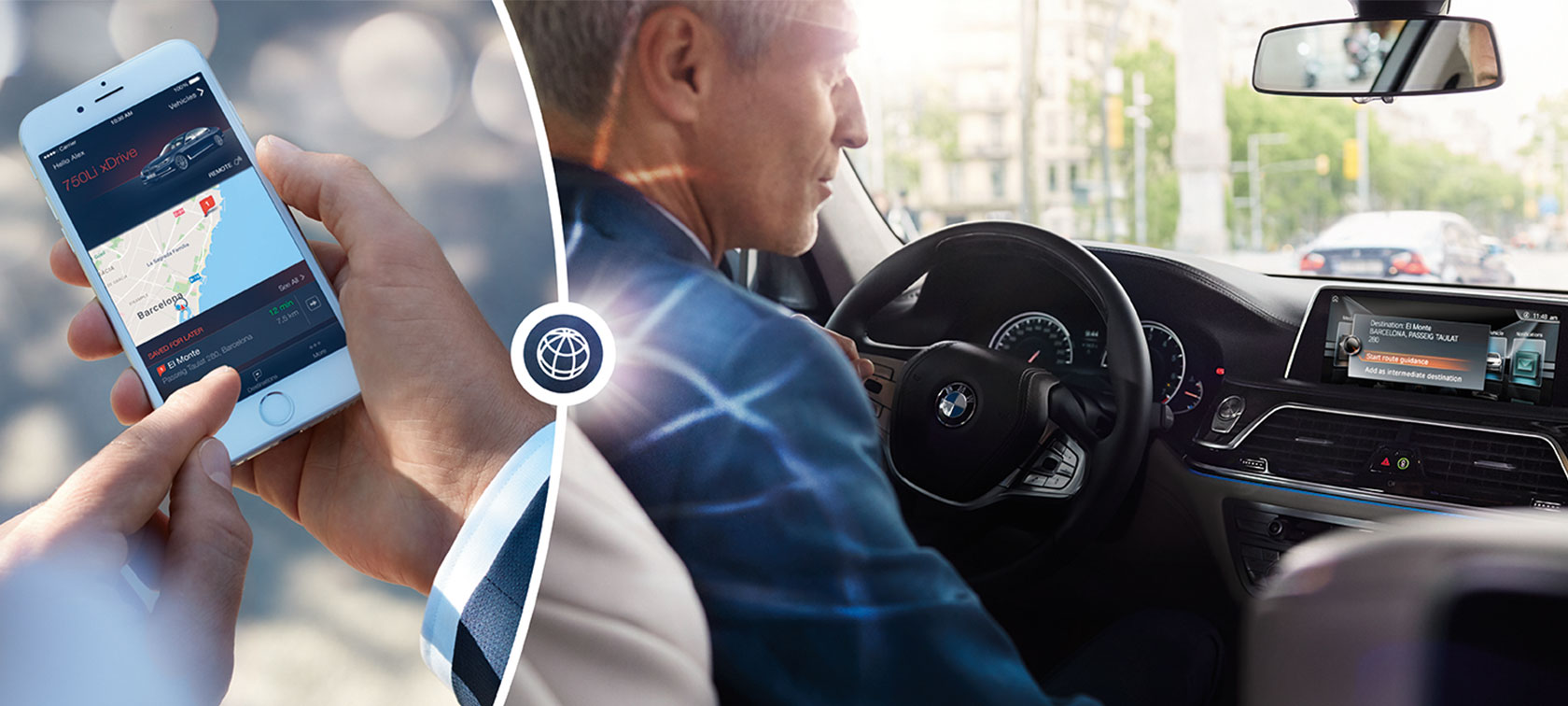 Les technologies et assistance au conducteur BMW.